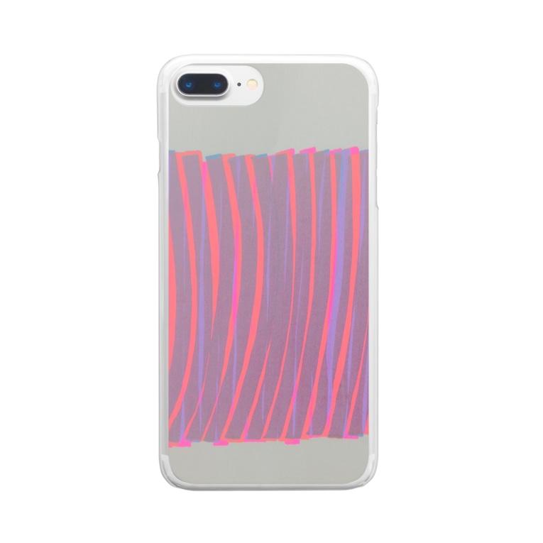 HARUTA_MISAKIのline Clear smartphone cases