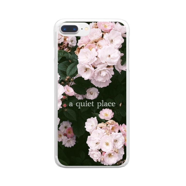 kaoru_andの静かな場所 Clear smartphone cases