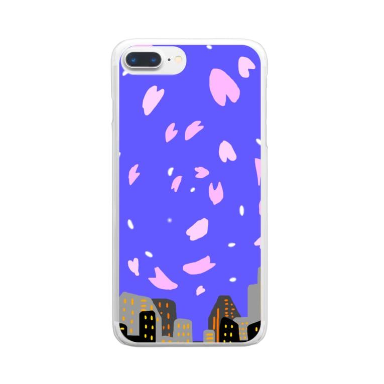 tamuryのヨザクラ Clear smartphone cases