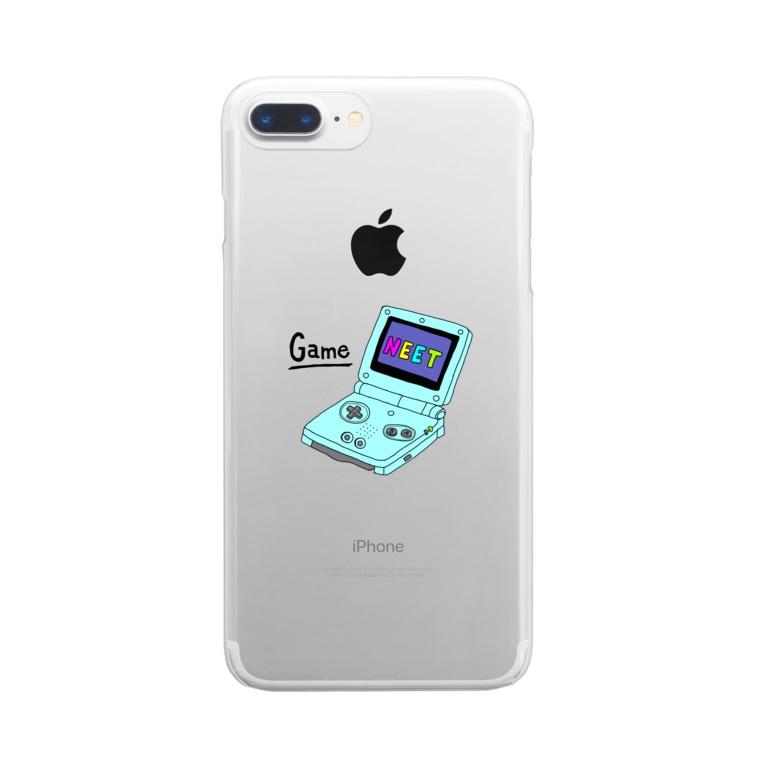 ゆぴぴのげーむぼーい Clear smartphone cases