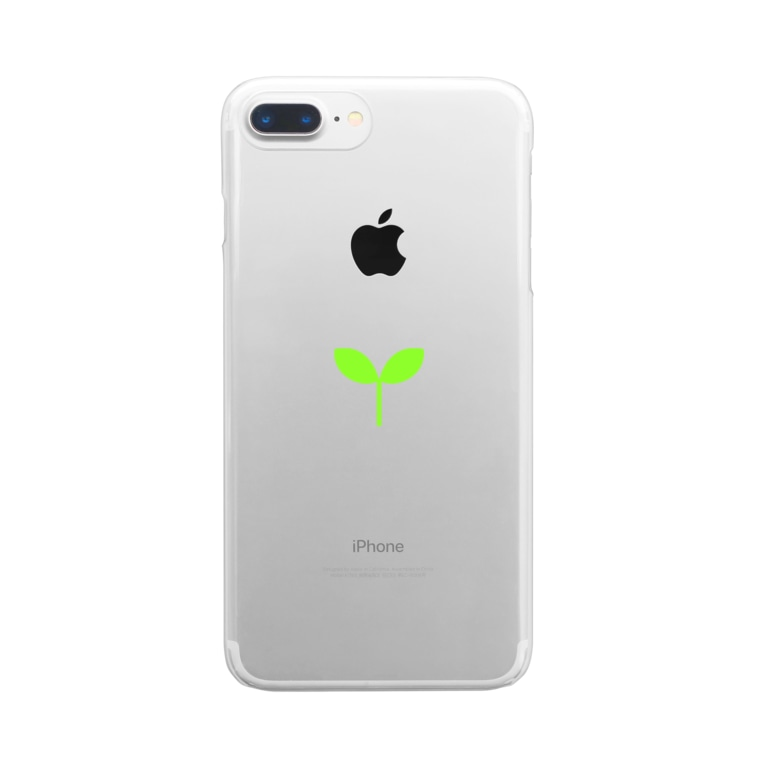 NPO法人NEXT CONEXIONのこどもの芽 Clear smartphone cases