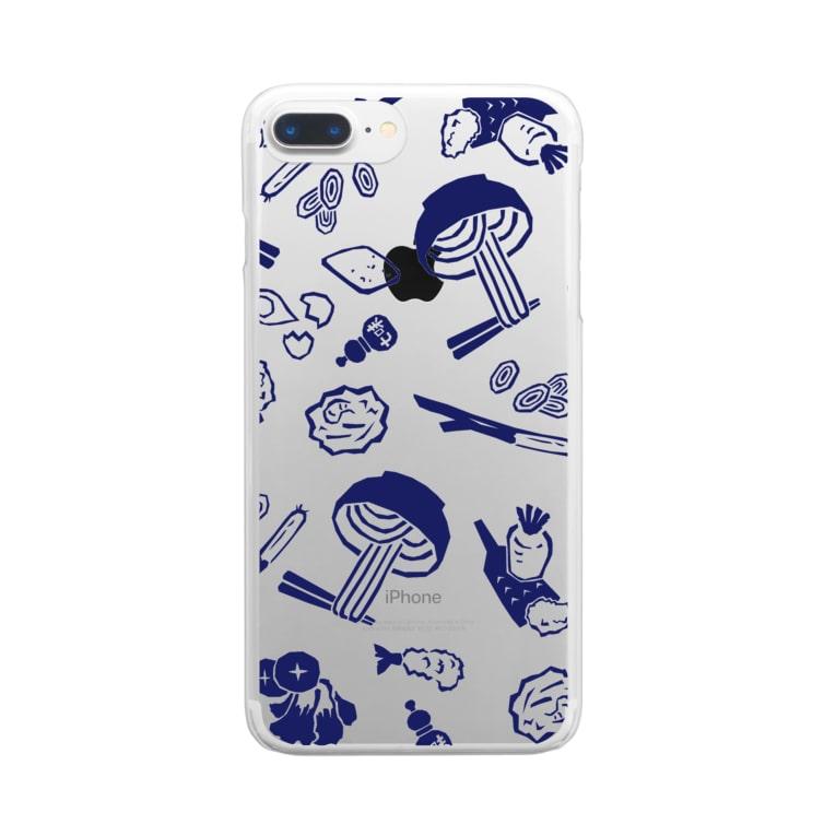 WEBYAのうどん屋にありそうなグッズ Clear smartphone cases