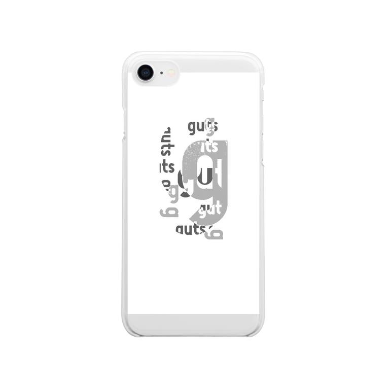 GUTSUのGUTSU Clear smartphone cases