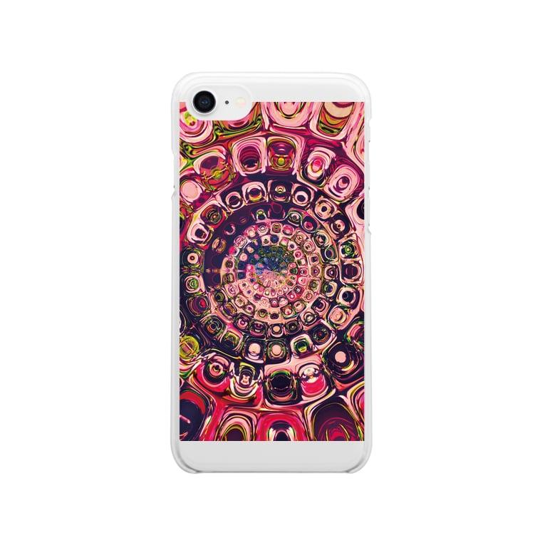 TokyoSienneのPINKの世界 in kaleidoscope Clear smartphone cases