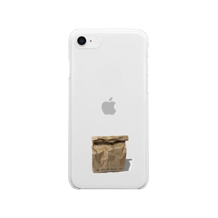 Anti JUN ON Social Club の紙袋 Clear smartphone cases
