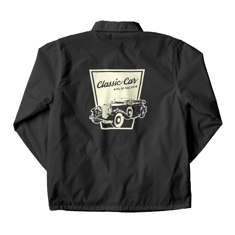 DOKI DOKI MAGIC SHOWのClassic Car Coach Jacketの裏面