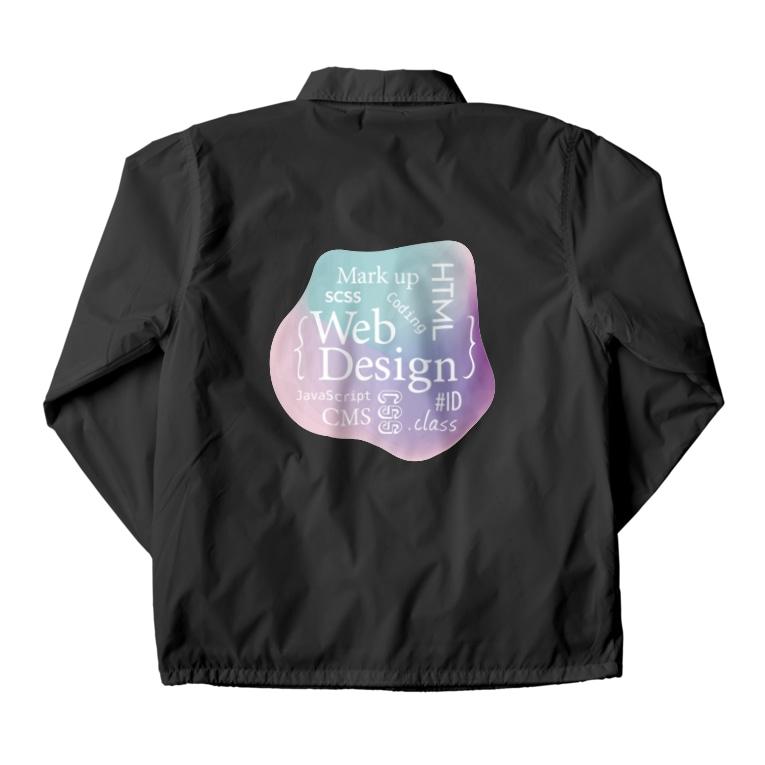 webookerのウェブデザイン タイポグラフィ Coach Jacket