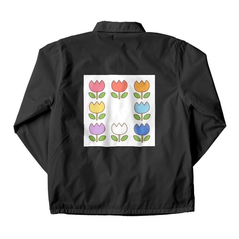 色々雑貨屋さんのお花 Coach Jacket