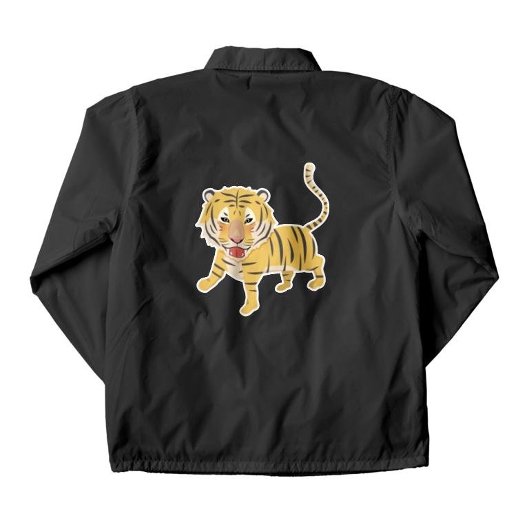 あかえほ│赤ちゃん絵本のWeb図書館 公式グッズ販売のトラさん Coach Jacket