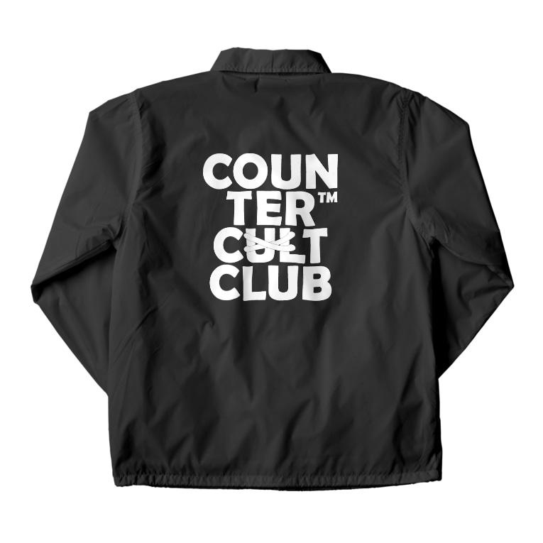 COUNTER CULTCLUB™️のCOUNTER CULTCLUB Coach Jacket