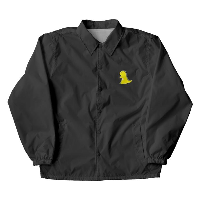 namunamuのドット恐竜 1匹 黄色 イエロー Coach Jacket