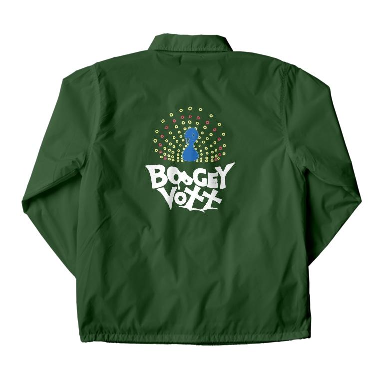 BOOGEY VOXX -Official SUZURI-のKUJYAKU -コーチジャケット- Coach Jacketの裏面