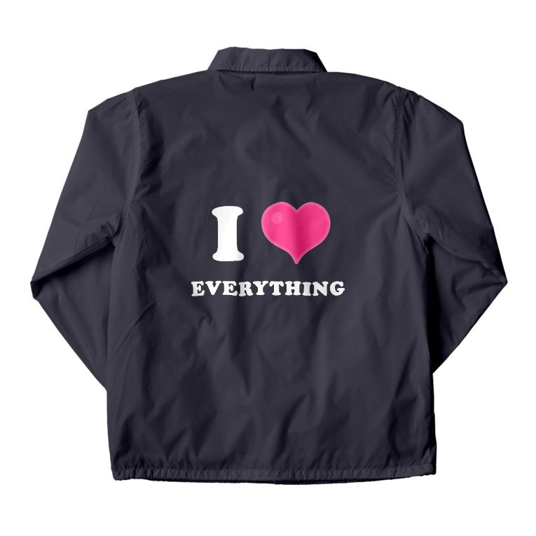 yossibleのI LOVE EVERYTHING Coach Jacket