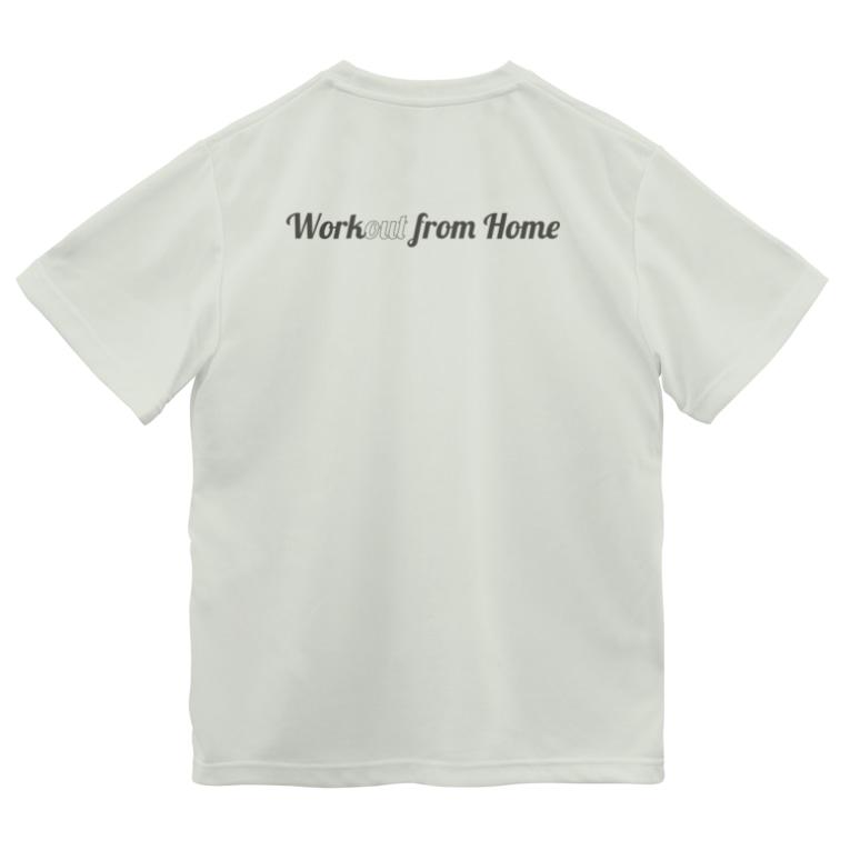 """イノたまごラボのWork""""out"""" from Home Dry T-shirts"""