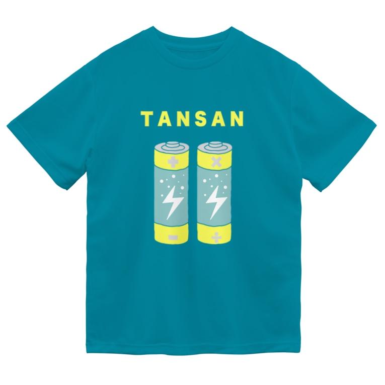 Planet Evansの炭酸電池 Dry T-shirts