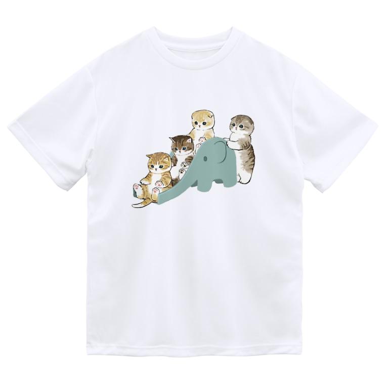 mofusandのもふもふ渋滞 Dry T-Shirt