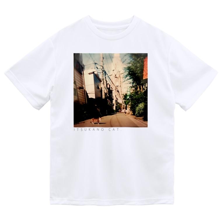 おやすみねんねのITSUKANO CAT. Dry T-Shirt