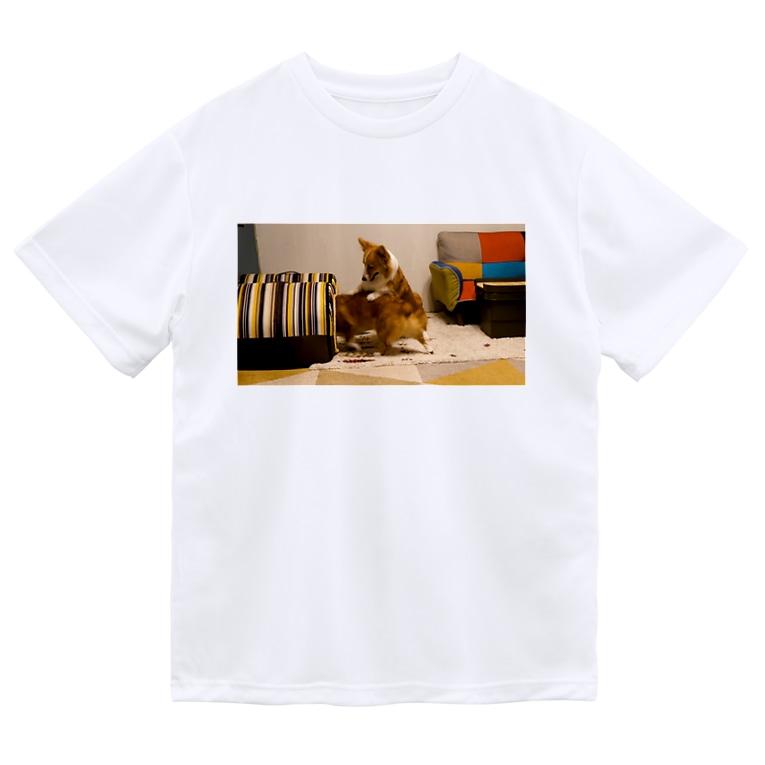 ちい むう ととろ Chi Mu Totoroの「オラ!とっとと入れ!!」 Dry T-Shirt