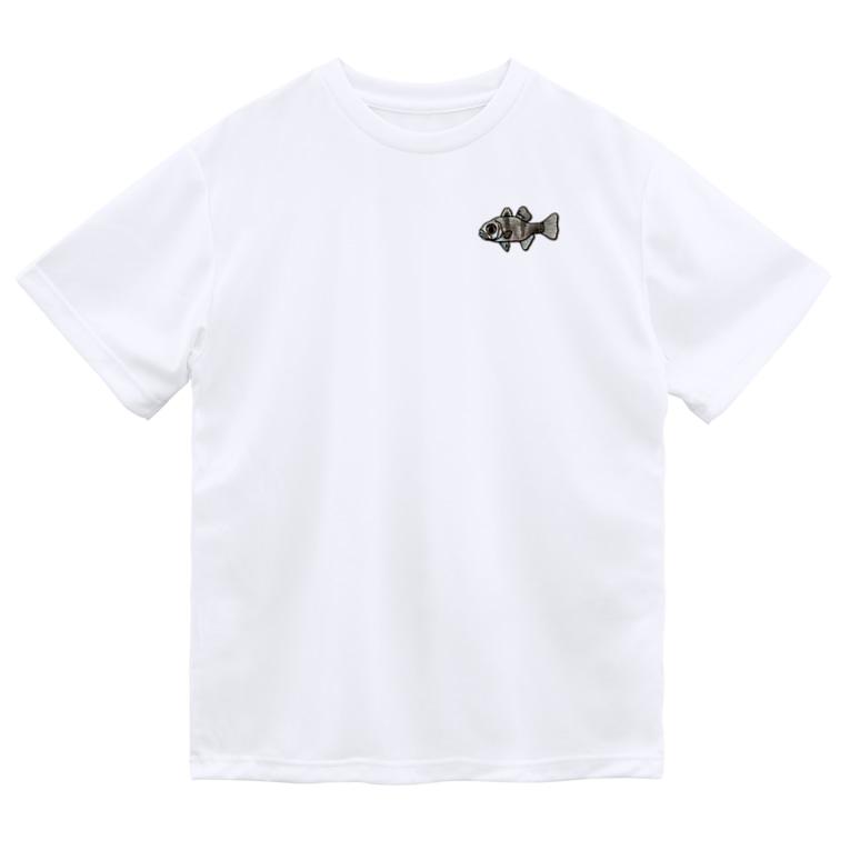 snaggedgorillaのマダラテンジクダイ Dry T-Shirt