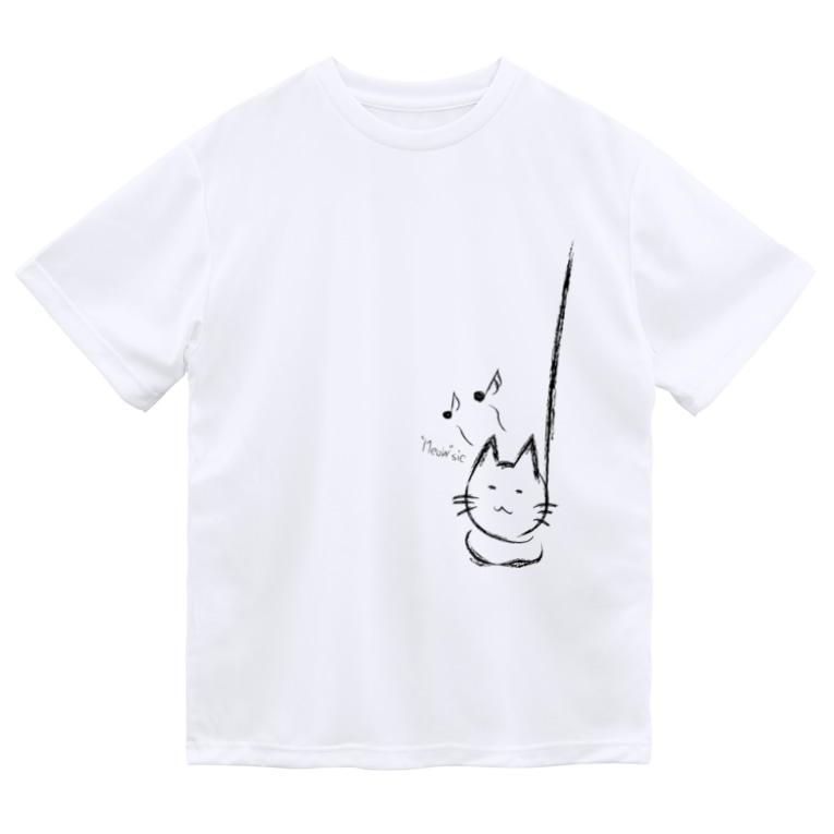 "Moondropの""Meow""sic Dry T-Shirt"