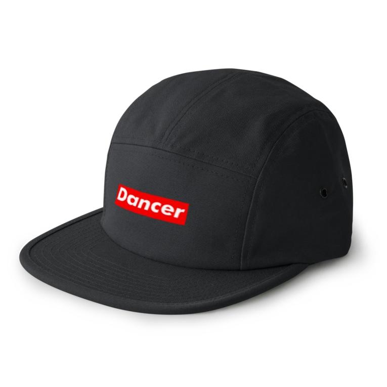 カマラオンテのDancer ダンサー  ボックスロゴ  5 panel caps