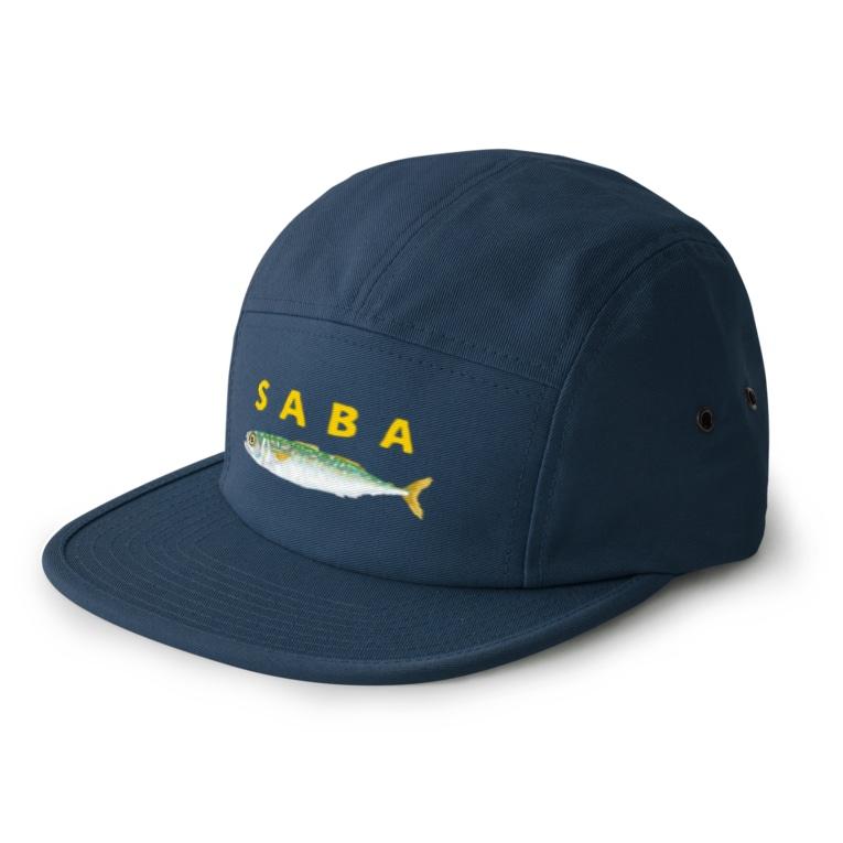 さちこの生き物雑貨のSABA 5 panel caps