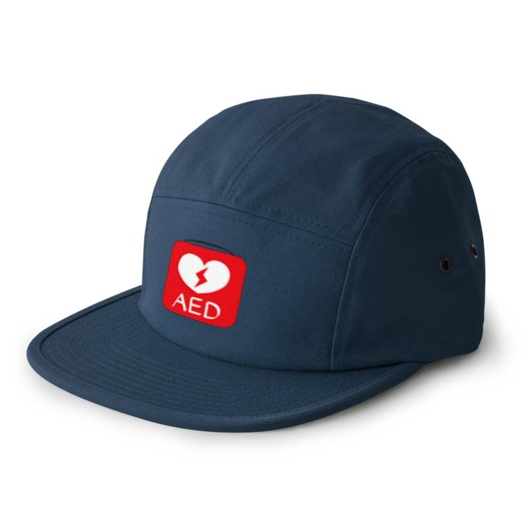 TK-marketのAED Tシャツ 5 panel caps