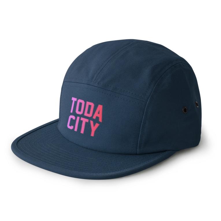 JIMOTO Wear Local Japanの戸田市 TODA CITY 5 panel caps