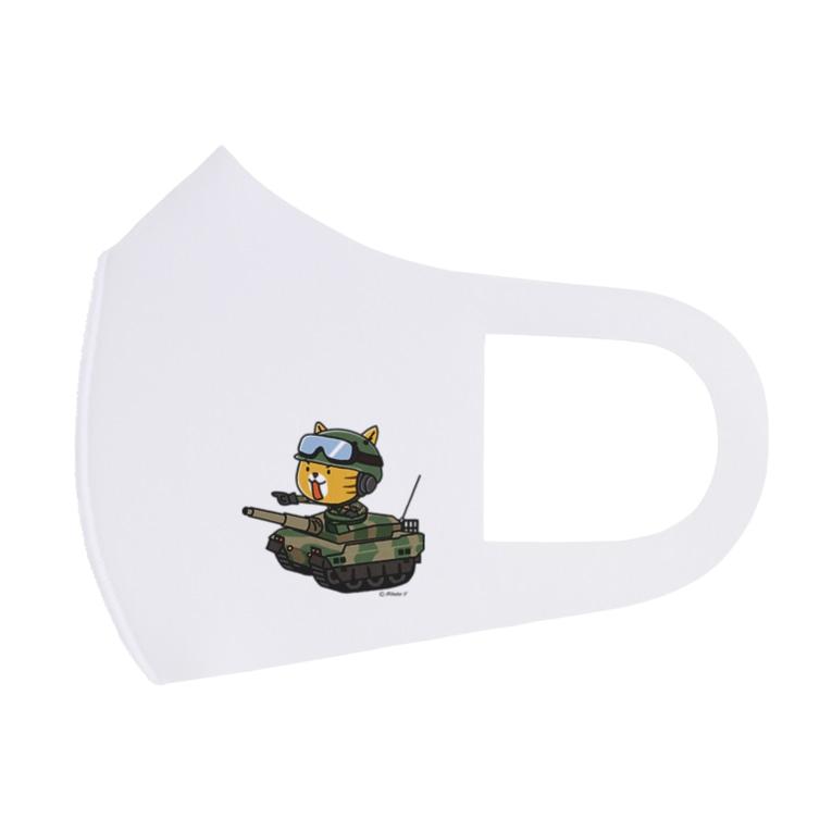 hitohana*+α《ヒトハナ+α》のネコマル式戦車 Full Graphic Mask