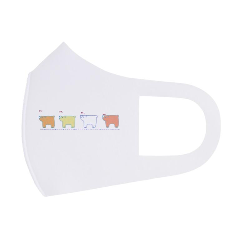 星華 -SEIKAcreate-のクマ、クマ、クマ、クマ。 Full Graphic Mask