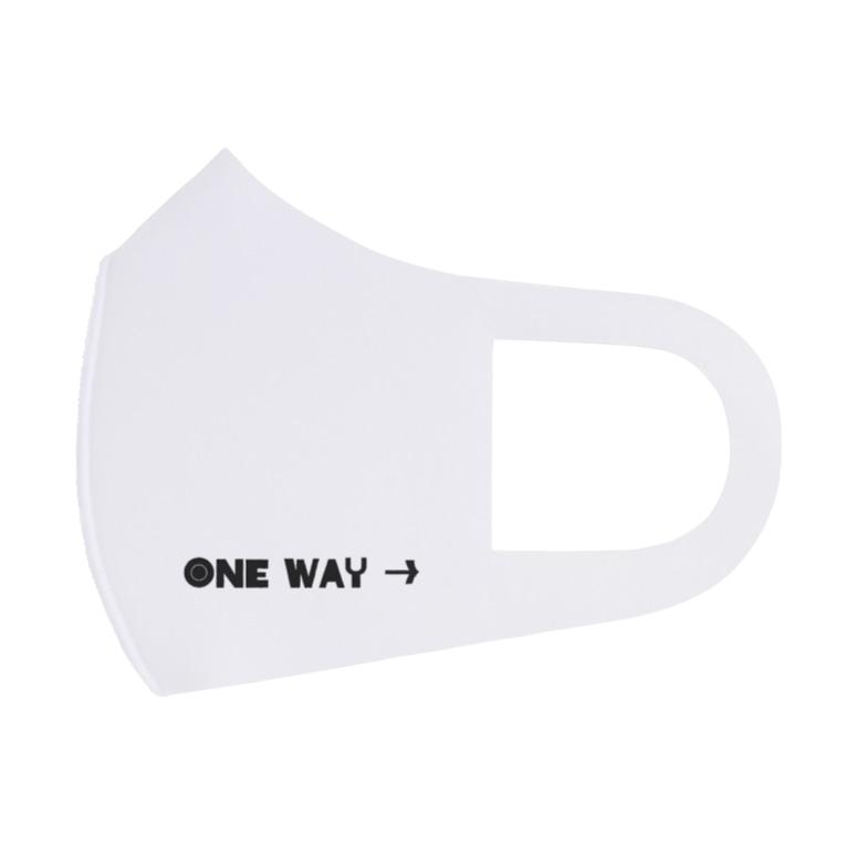 GliateWorkShopのONE WAY→ Full Graphic Mask