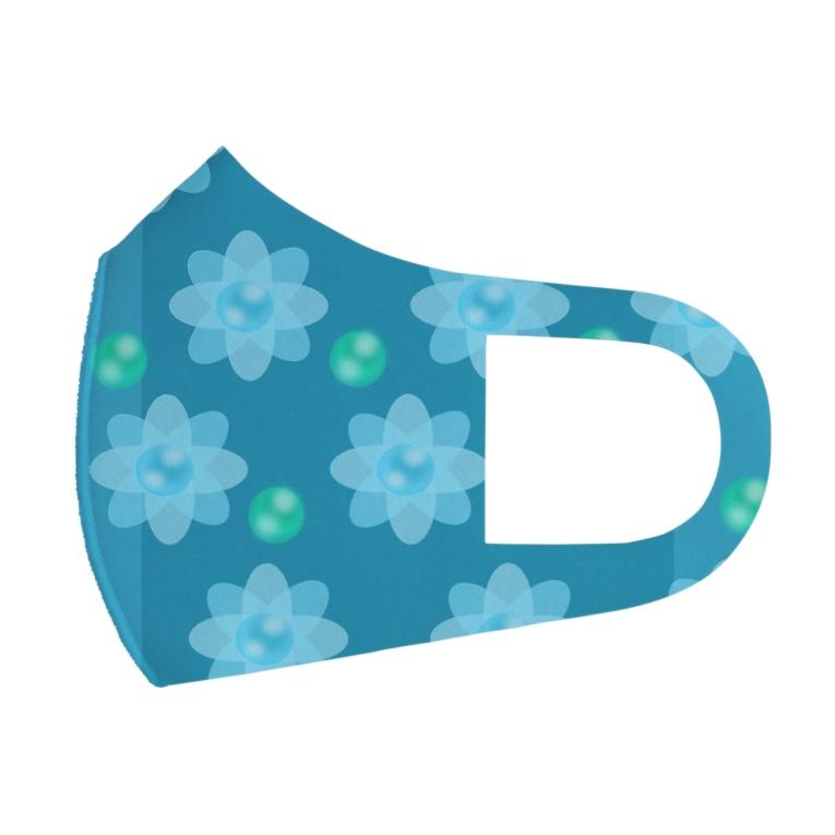 pupy.styleのレトロな春の香りC Full Graphic Mask