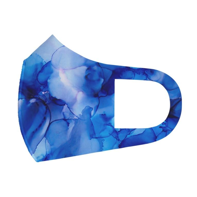 ひのいろ研究室 購買部の侵蝕シリーズ【清明】 Full Graphic Mask