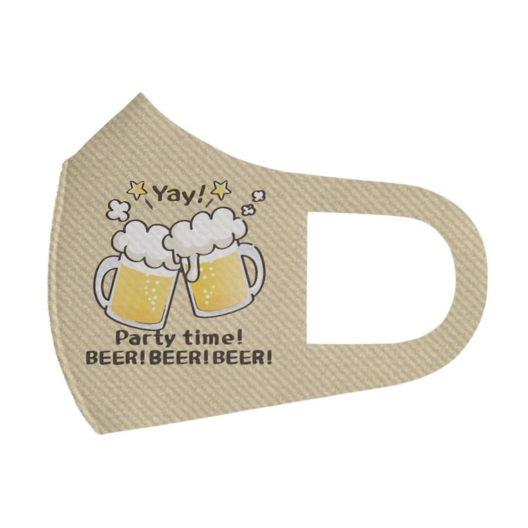 *suzuriDeMonyaa.tag*のCT125 BEER!BEER!BEER! Full Graphic Mask