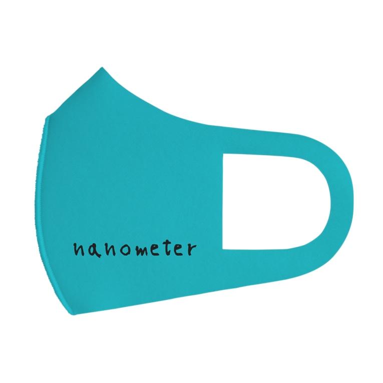 nanometerのnanometerマスク(ターコイズ) Face Mask