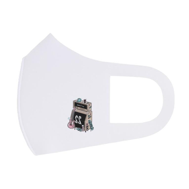 SAKAE SP-RING オフィシャルグッズ売場のサカスプ2021 アンプデザイン Full Graphic Mask