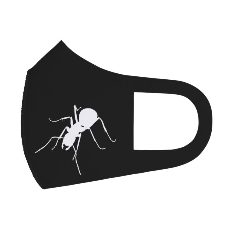 ANT☆Diaryの蟻シルエット反転A Full Graphic Mask