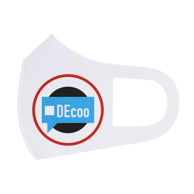 DEcoo.storeの[DEcoo's]ヒトリゴト Full Graphic Mask