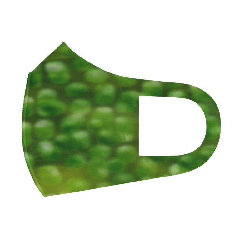 Danke Shoot Coffeeの海ぶどう Full Graphic Mask