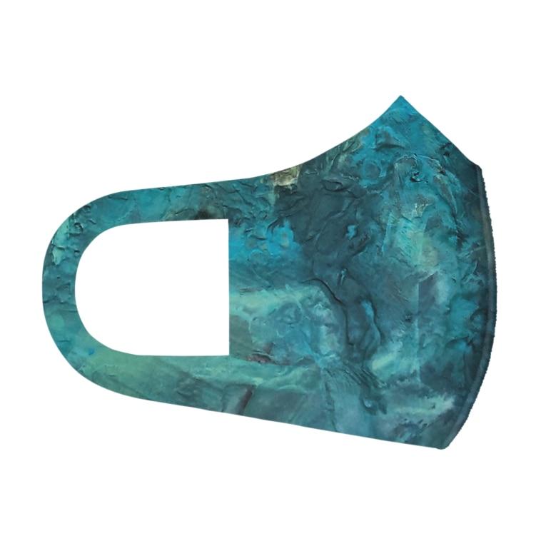犬野温森の海底ひゃくおくまんキロメートル Full Graphic Mask