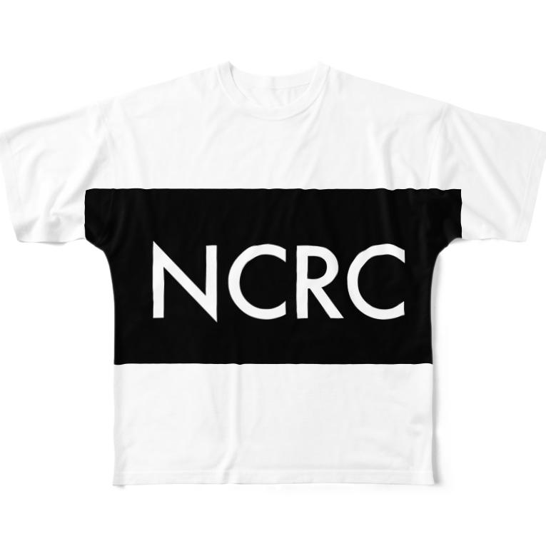 tdkjdesignのNCRC  black Full graphic T-shirts
