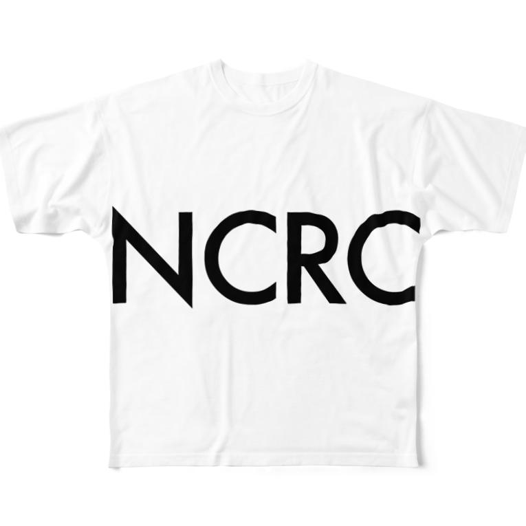 tdkjdesignのNCRC white Full graphic T-shirts