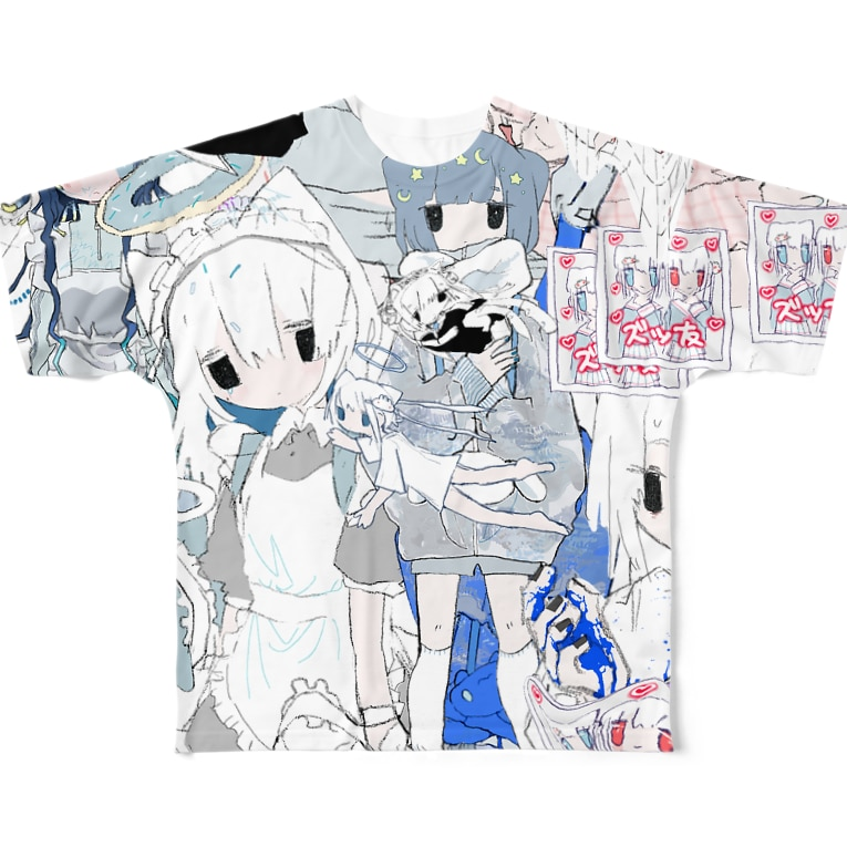 。のまぜまぜ。 Full graphic T-shirts