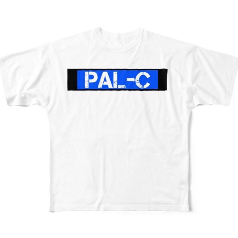PAL-CのPAL-C Tシャツ Full graphic T-shirts