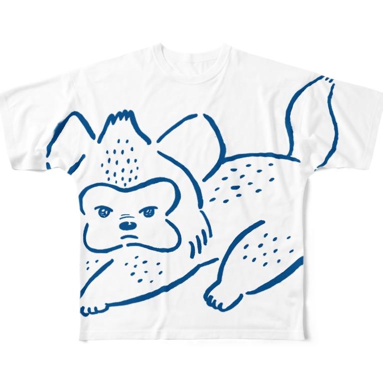 ハイエナズクラブのあおむろひろゆき×ハイエナズクラブ Full graphic T-shirts