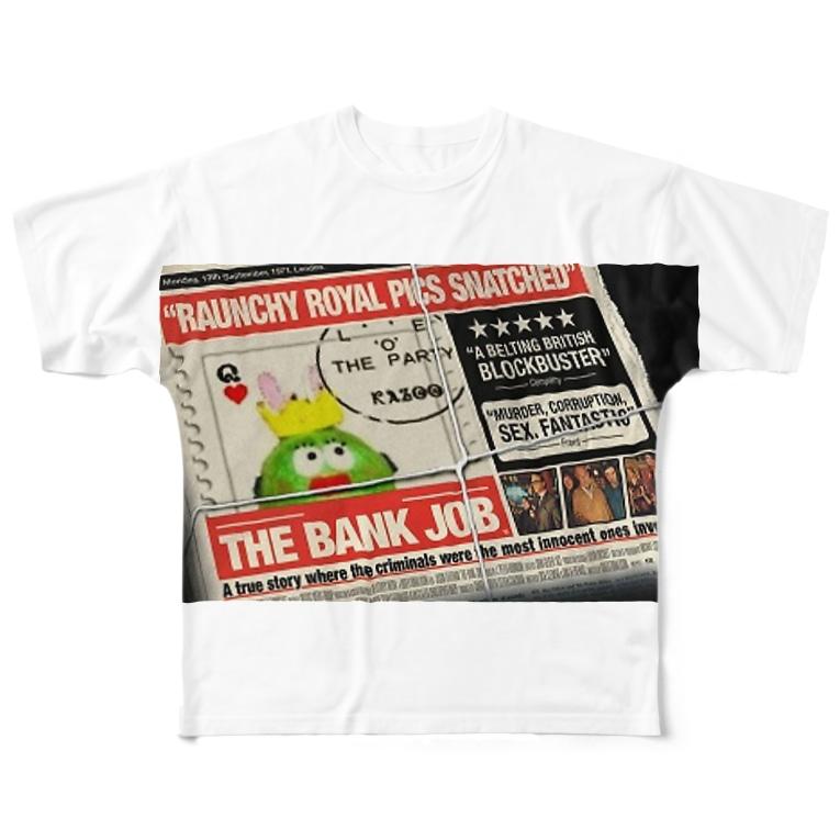 tonchiki のNEWS tonchiki Full graphic T-shirts