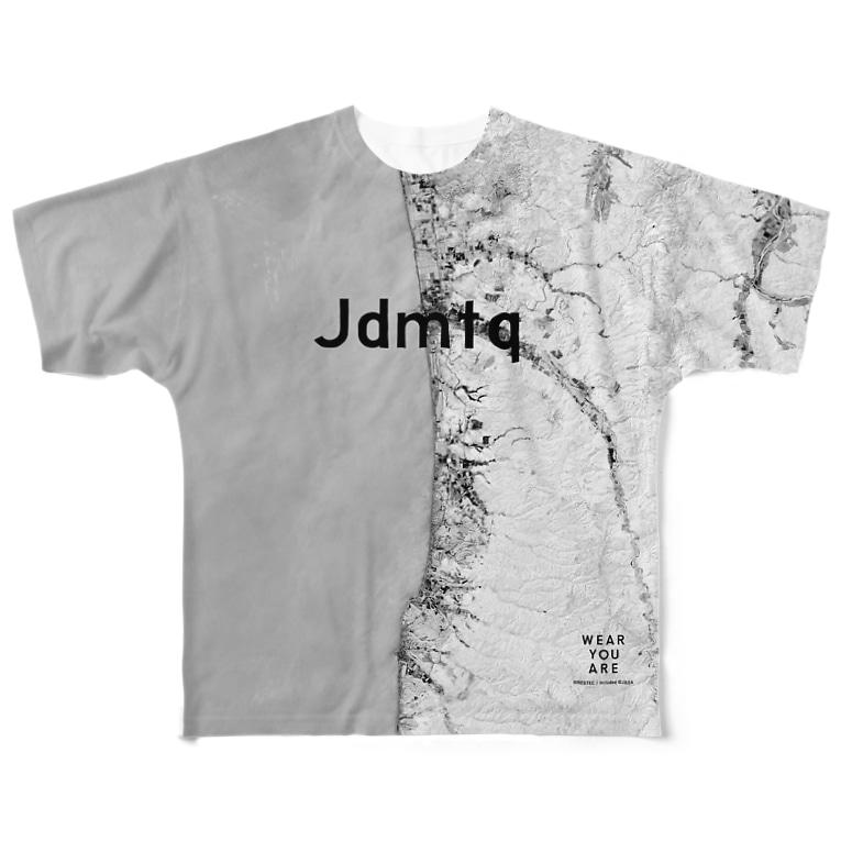 WEAR YOU AREの北海道 天塩郡 Tシャツ 両面 Full graphic T-shirts