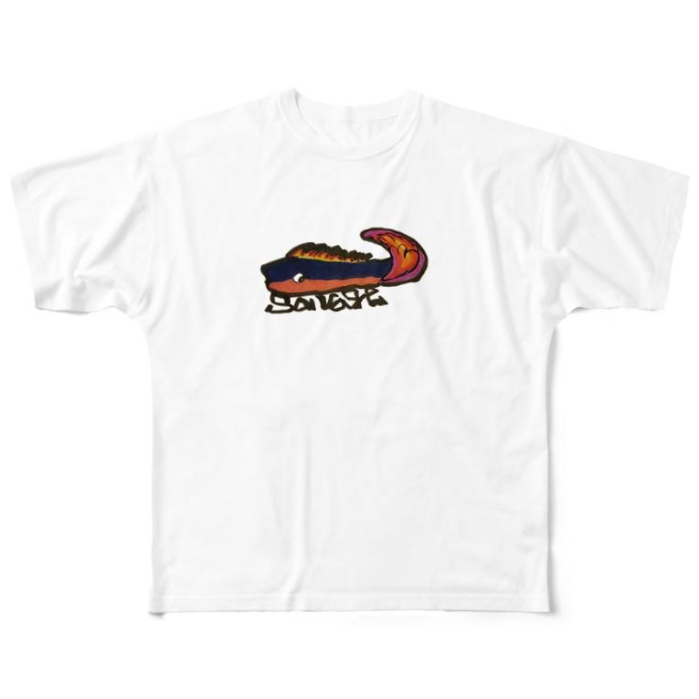 NM商会のSavage fish  Full graphic T-shirts