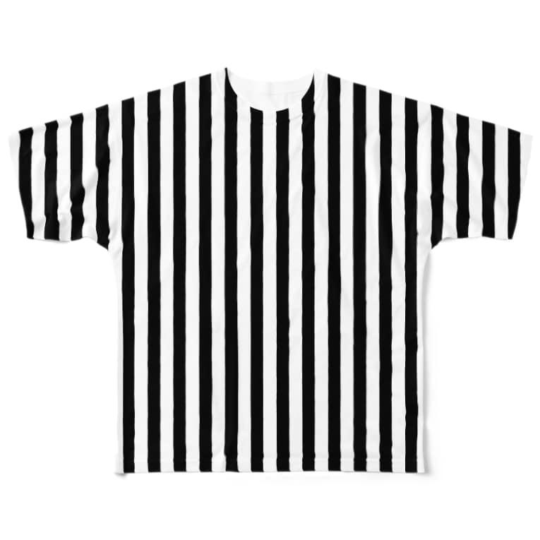 Likely Lads & Co.のストライプのTシャツ Full graphic T-shirts