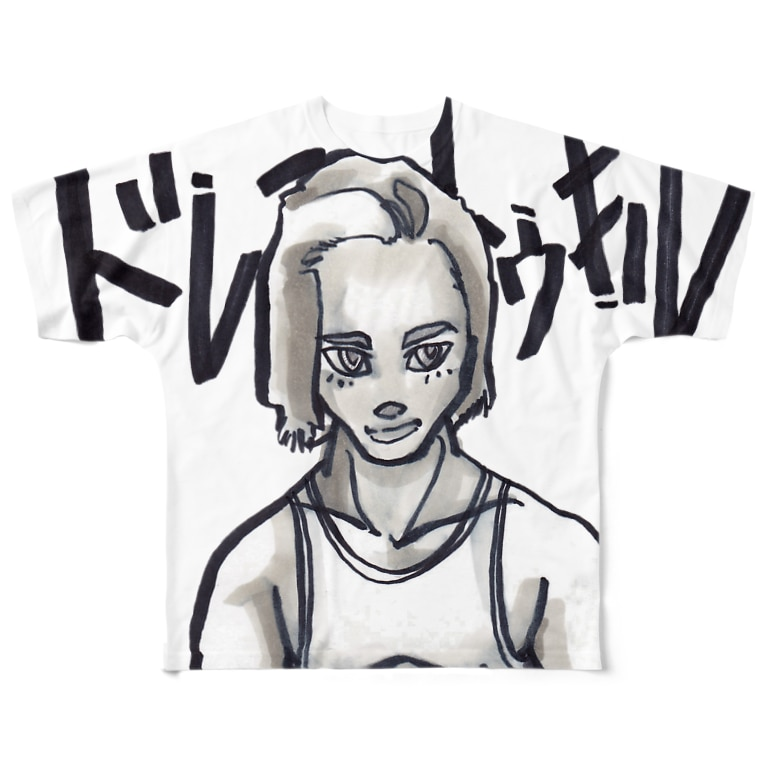 DRESS TO KILL.のSURFER BOY TOY Full graphic T-shirts